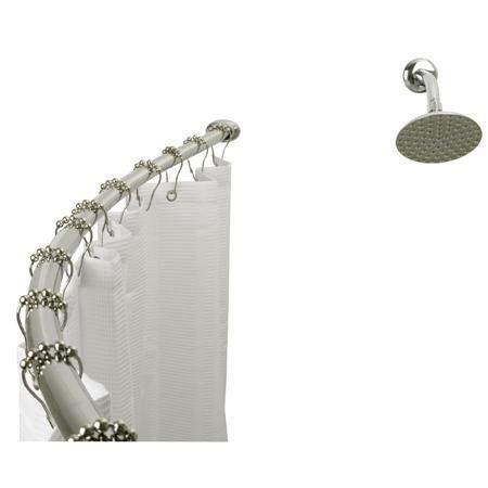 Kingston Brass Curved Shower Rod CC3171, Chrome . $69.95