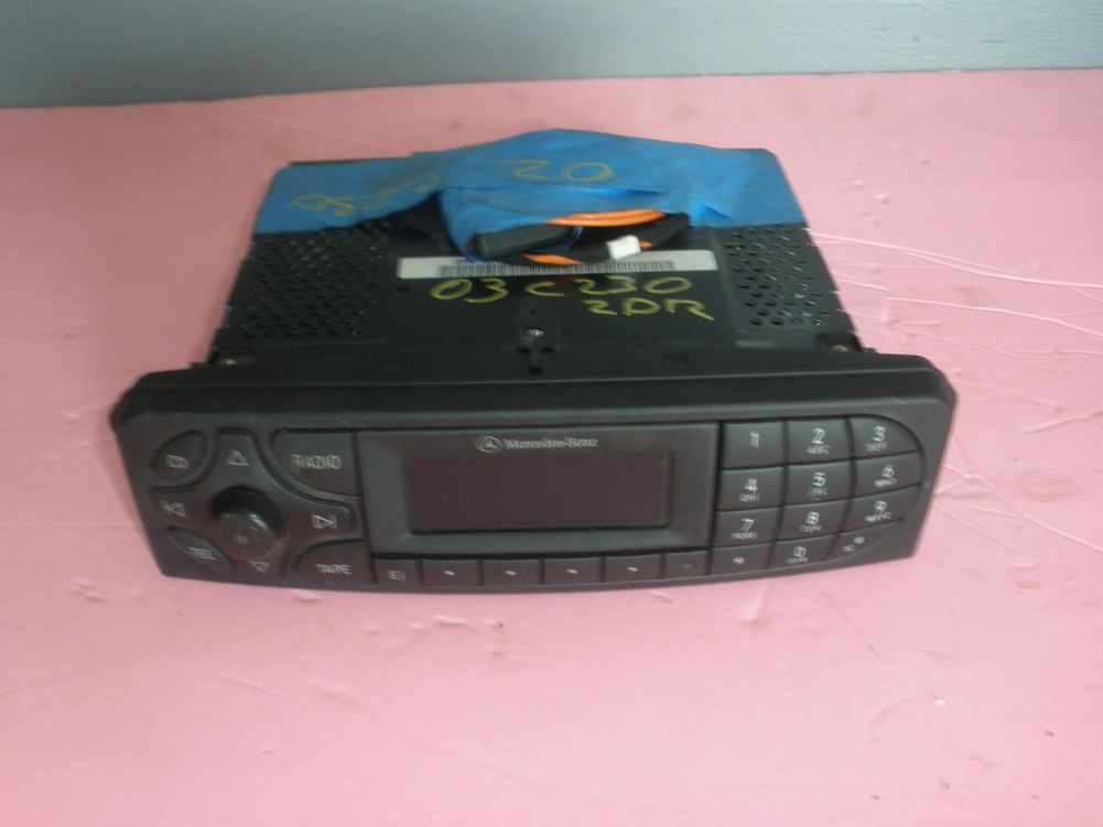 This radio cd player mp3 is for 2001 2006 mercedes benz for 2001 mercedes benz ml320 radio