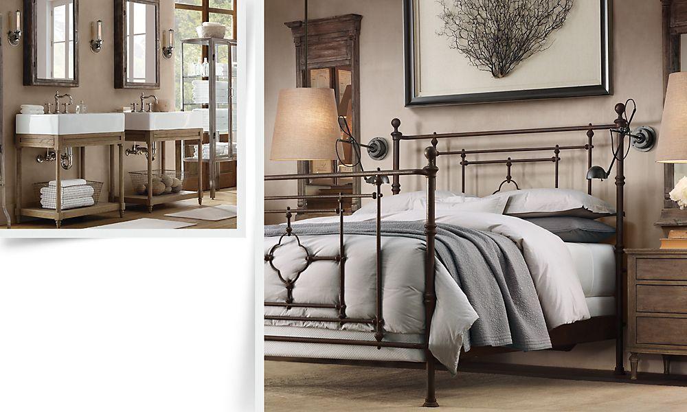 Rooms Restoration Hardware Home decor bedroom, Bed