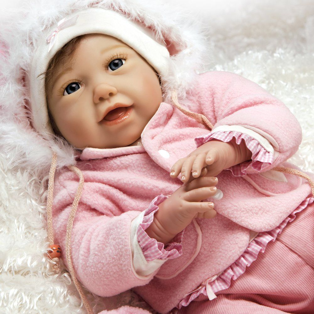 f859145239e Amazon.com  Paradise Galleries Lifelike Realistic Reborn Baby Doll ...