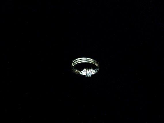 Argentium Sterling Silver Triple Wrapped Toe by katydidjewellery, $20.00