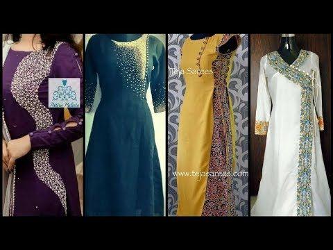 e6419b736529 Multi Color Kurtis Multicoloured Kurtas   Kurtis for Women - YouTube. Party  Wear DressesStylish DressesDress DesignsVideo LinkTop ...
