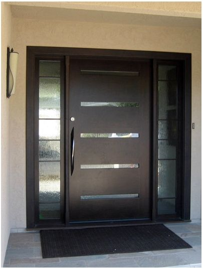 Contemporary Front Doors Building Cottage Office