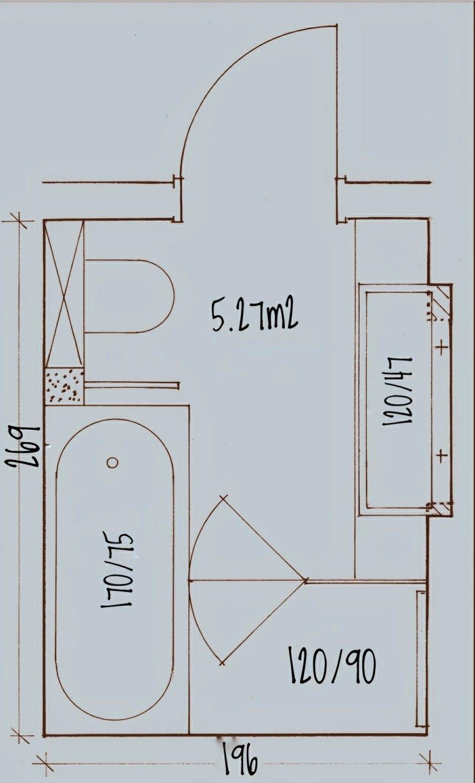 Pin von Ismael Sinaceur auf Our house   badkamer   Kompaktes ...