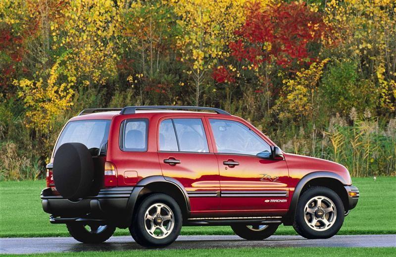 2000 Chevy Tracker Chevrolet Tracker Chevy