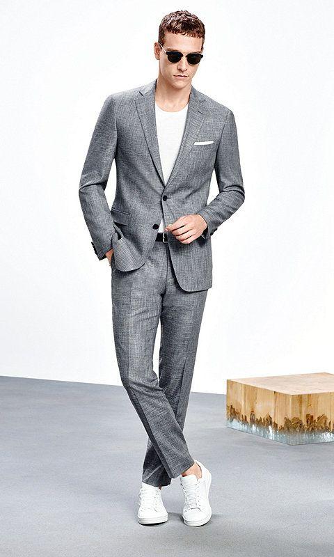 best sneakers 2a0a1 8d1f2 LOOKBOOK BOSS HERREN   suits   Herrenmode anzüge, Anzug ...