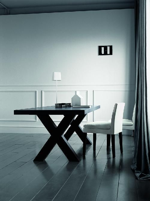 Elegant Black Dining Table   Andrea By Casamilano   DigsDigs Nice Ideas