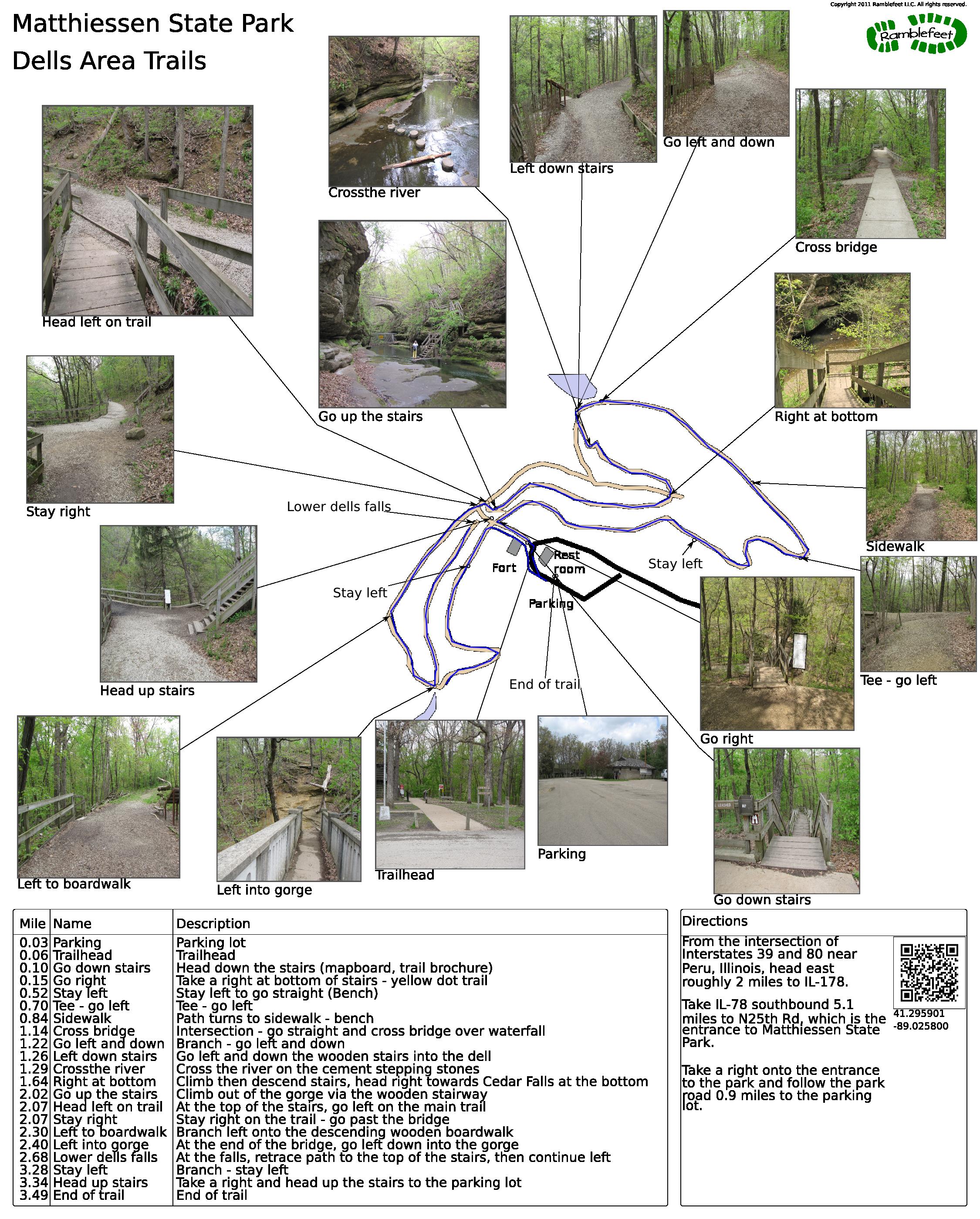 Matthiessen State Park Trail Map : matthiessen, state, trail, Matthiessen, State, Park,, Dells, Trails, Parks,, Trails,, Places