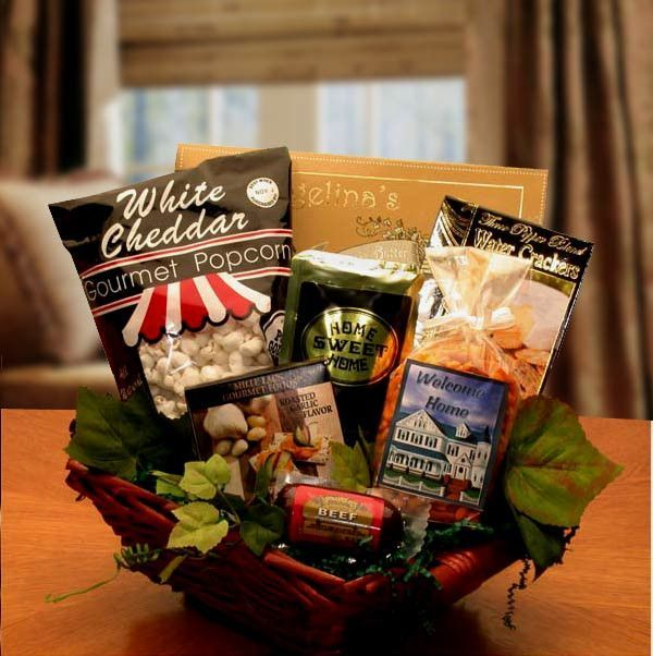 Welcome To Your New Home Gift Basket Gift Basket Ideas And