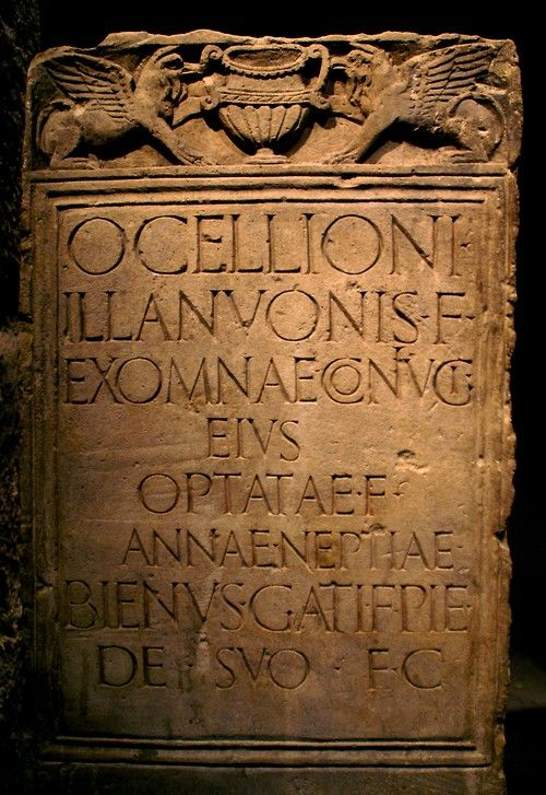 Roman gravestone | Romano-Germanic Museum, Cologne, Germany