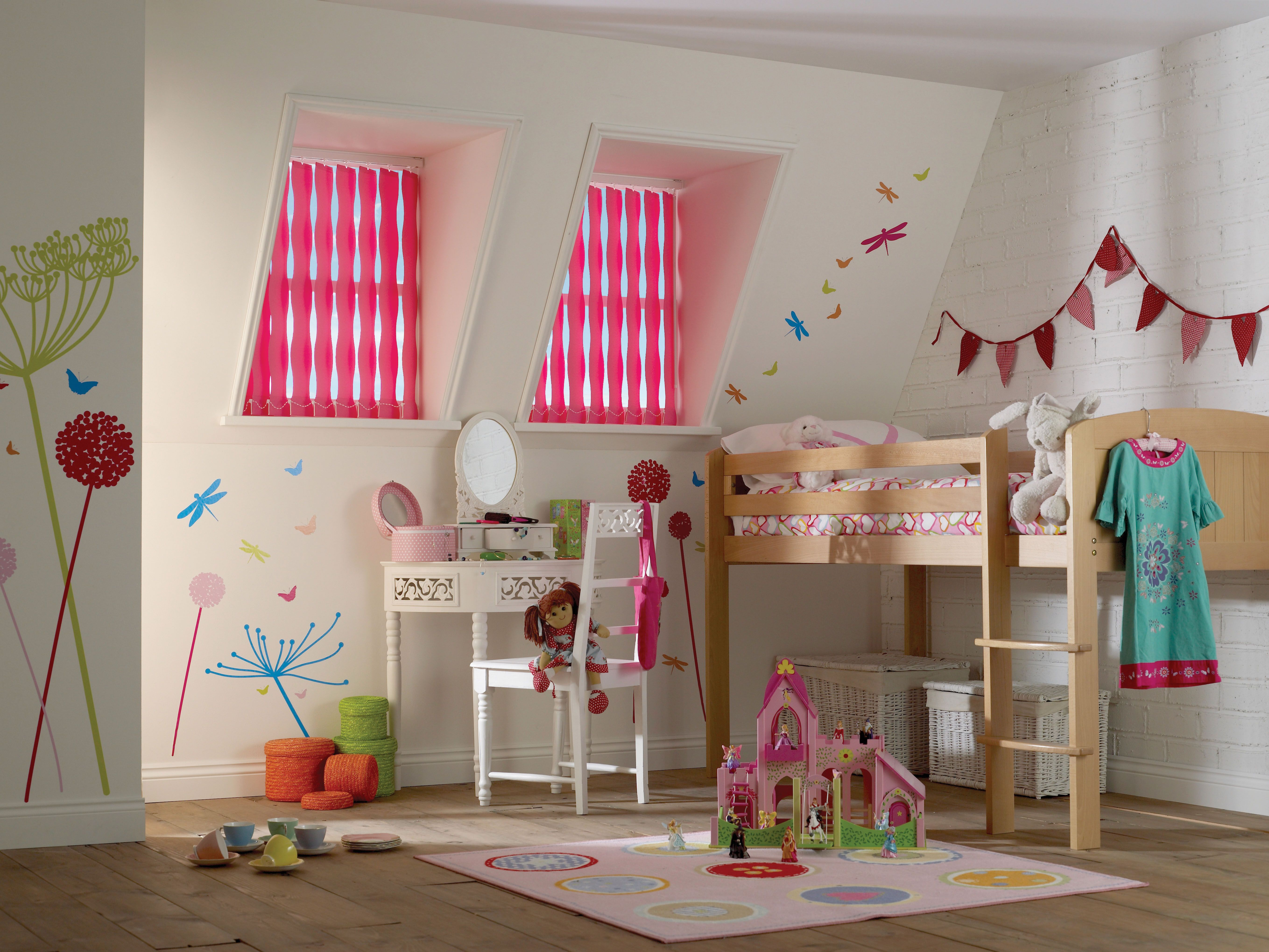 Shapella pink vertical blinds from Apollo Blinds. Pink ...