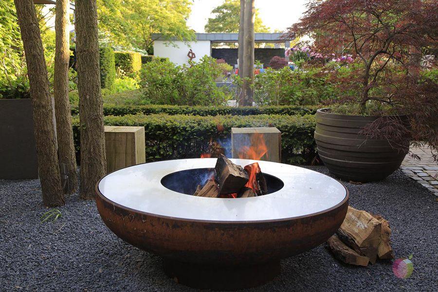 Feuerschale In 2020 Feuer Schalen Garten Feuer