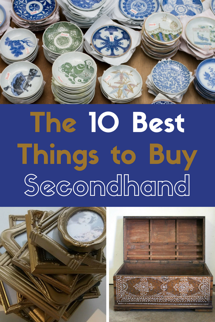 The 10 Best Things to Buy Secondhand is part of Home Accessories Shop Thrift Stores - You won't always find the perfect antique side table or the china collection of your dreams on your flea market adventure  Even if you do, nearly every thrifted gem requires a little TLC  The best thrifters have a third eye that sees any piece for what it is, but also what it could be  Here, we'll help you zero in on the most practical finds with the highest potential for storage and decoration  Watch for these 10 underrated staples on your next hunt
