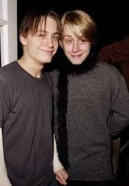 Macaulay Culkin and Kieran Culkin