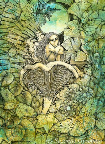 Moth Faery by Suzanne Gyseman