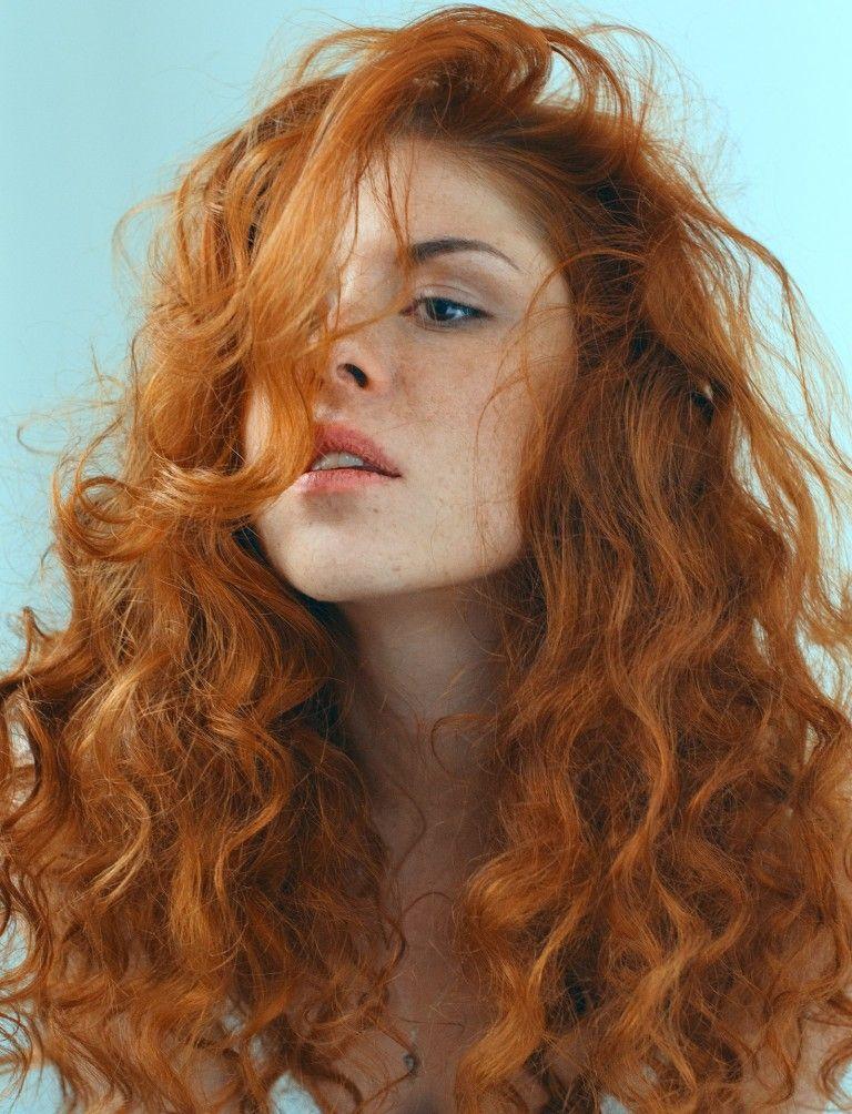 Hairy natural redhead