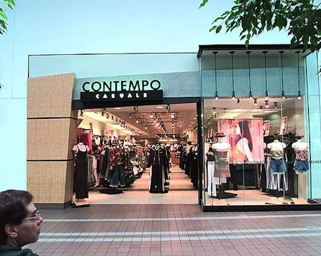 a5bf326294 Contempo Casuals | Flashback | Mall stores, Childhood memories, Shopping