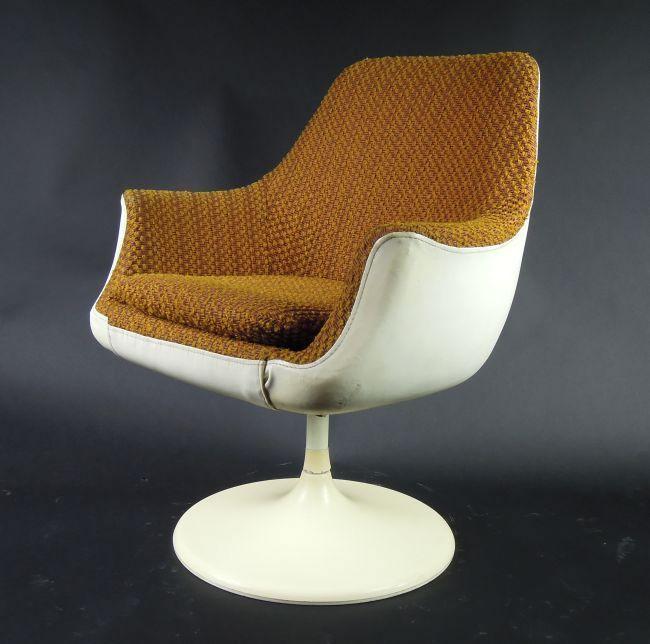 Joe Colombo Armchair For Lusch Erzeugnis 1960s