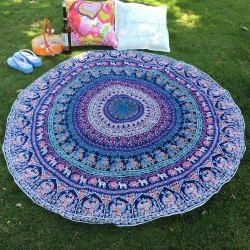 SHARE & Get it FREE | Indian Style Bikini Boho Elephant Print Thicken Chiffon Round Beach Towel ScarfFor Fashion Lovers only:80,000+ Items • New Arrivals Daily • Affordable Casual to Chic for Every Occasion Join Sammydress: Get YOUR $50 NOW!
