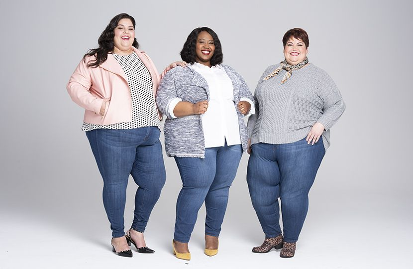 Plus Size Skinny Jeans at Every Size | Plus size skinny ...