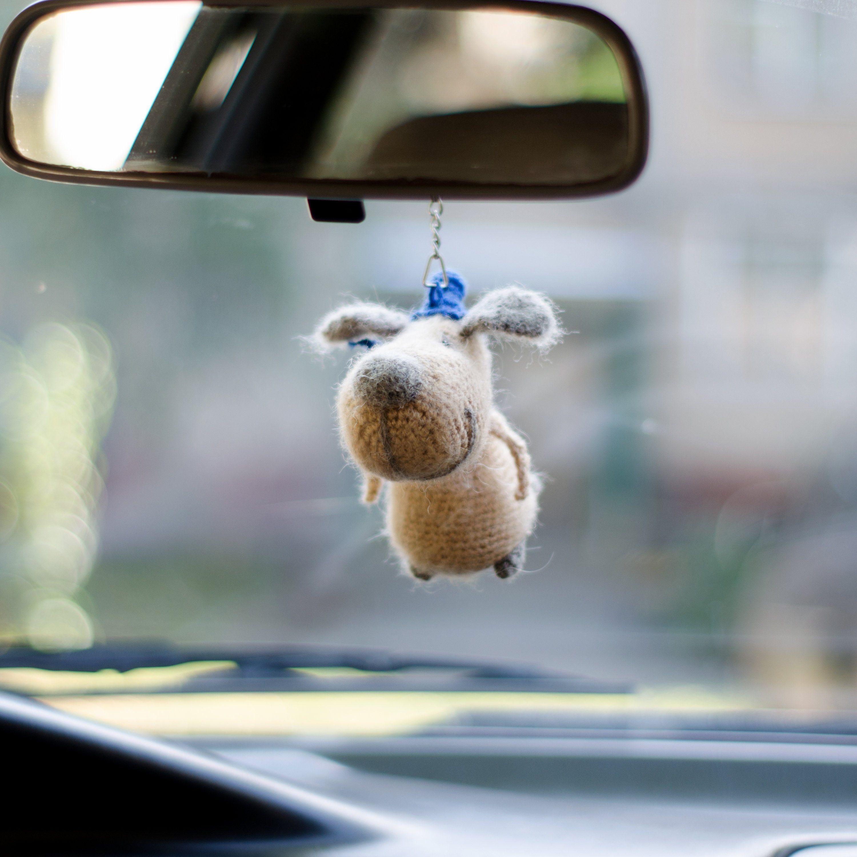 Dog keychain Handbag charm Car hanging pendant Bag keychain Car