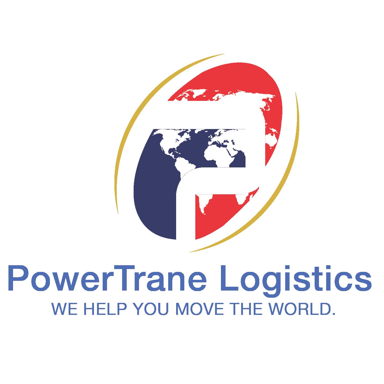 Logo Design Powertrane Logistics Logo Design Logistics Logos