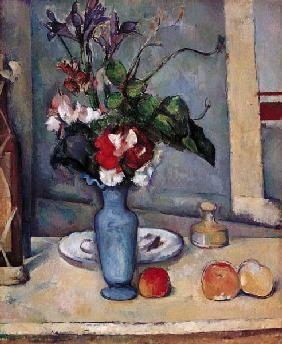 Paul Cézanne - The Blue Vase