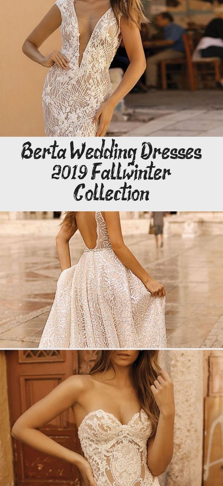 Berta Wedding Dresses 2019 Fall/winter Collection #bertaweddingdress