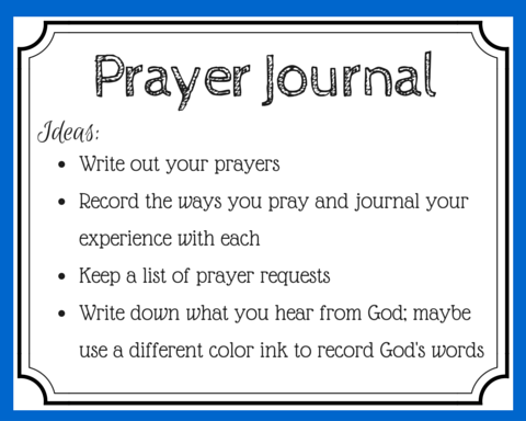 Writing Letters To God - 10 Simple Prayer Journal Ideas ...