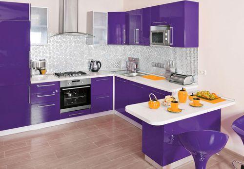 Cocina Morada | Cocina Morada Paint And Texture Pinterest Kitchens