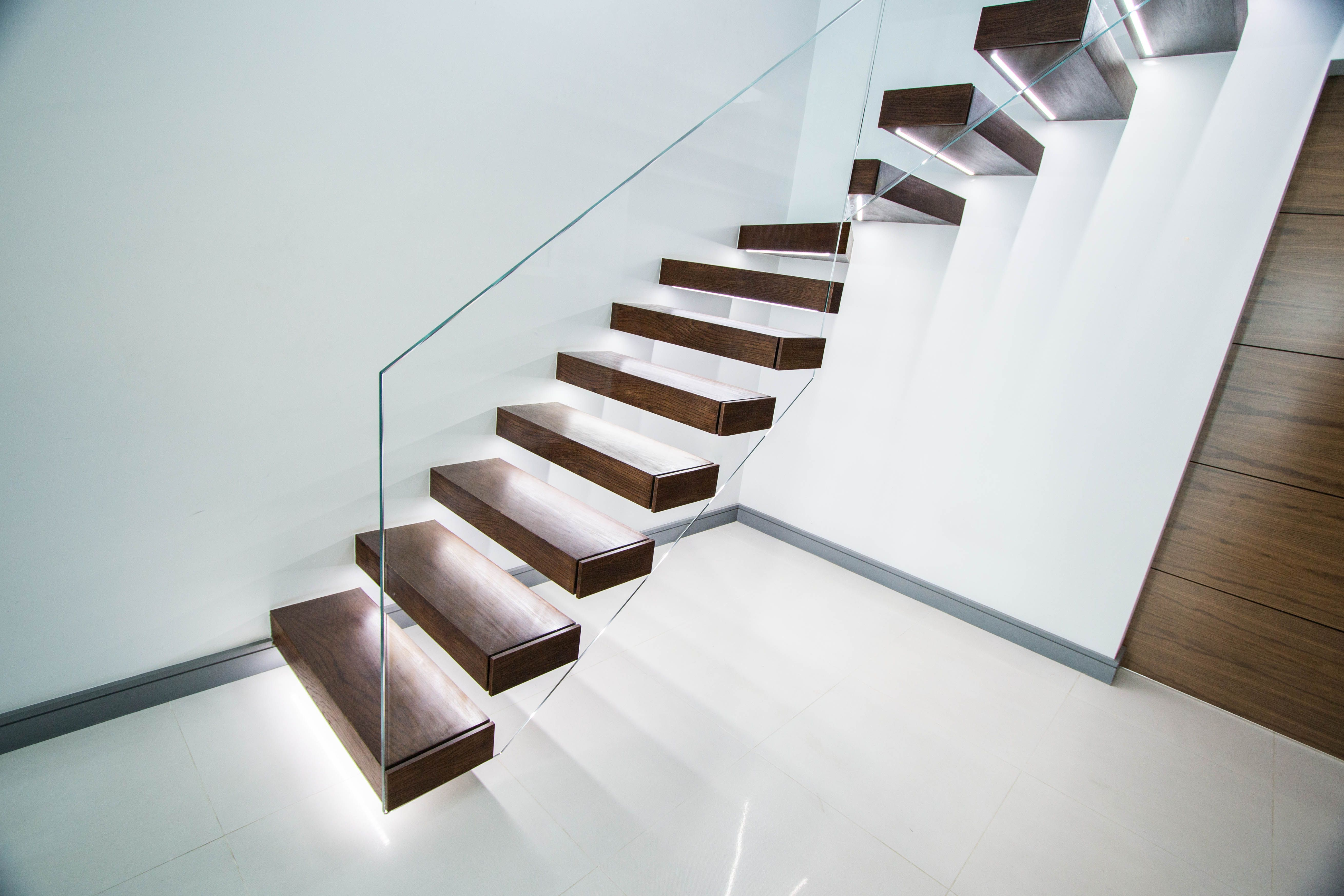 Floating Glass Staircase Cost Floating Stairs Floating