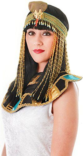 9c633939934 Adults Fancy Dress Party Accessory Womens Cleopatra Beaded Asp Snake  Headband     Click on the image for additional details. (This is an  affiliate link)