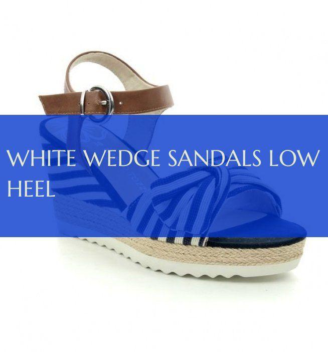 white wedge sandals low heel weiße keilsandaletten mit niedrigem absatz Sandals #white #wedge #sandals #heel #lowwedgesandals