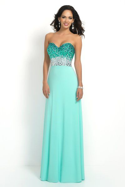 Style #2 - Available in Aqua, Size 2 www.anniesroombridal.com ...