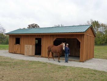 Horse Barns And Animal Shelters  Hand Made, Quality Construction At An  Affordable Price.