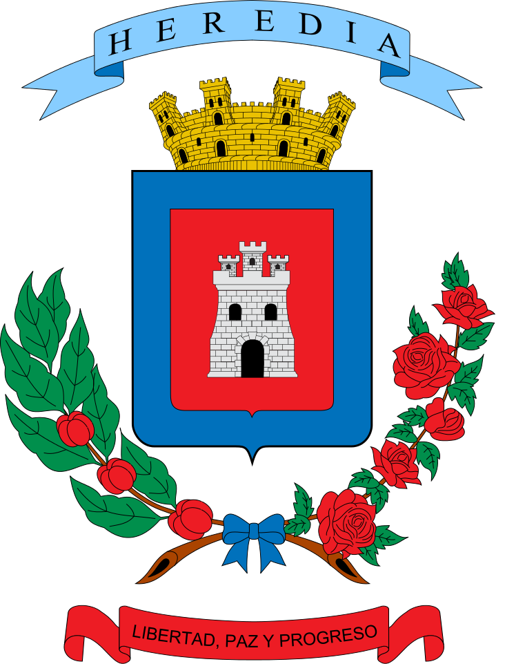 Provincia De Heredia Coat Of Arms San Province