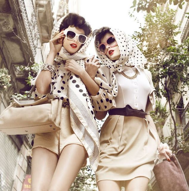 modern vintage fashion