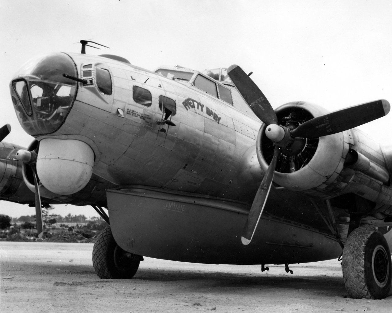A B17H/SB17G of the 5th Rescue Group, Okinawa, 1945