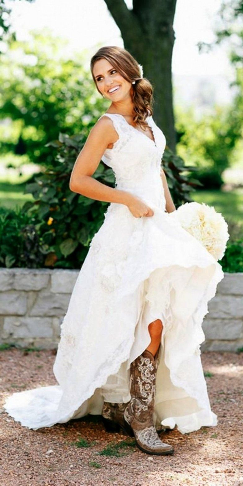 Wedding Dresses That Look Good With Tenues Chics Tenue