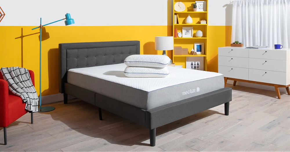 Nectar Sleep offers best Bed Frame with Headboard