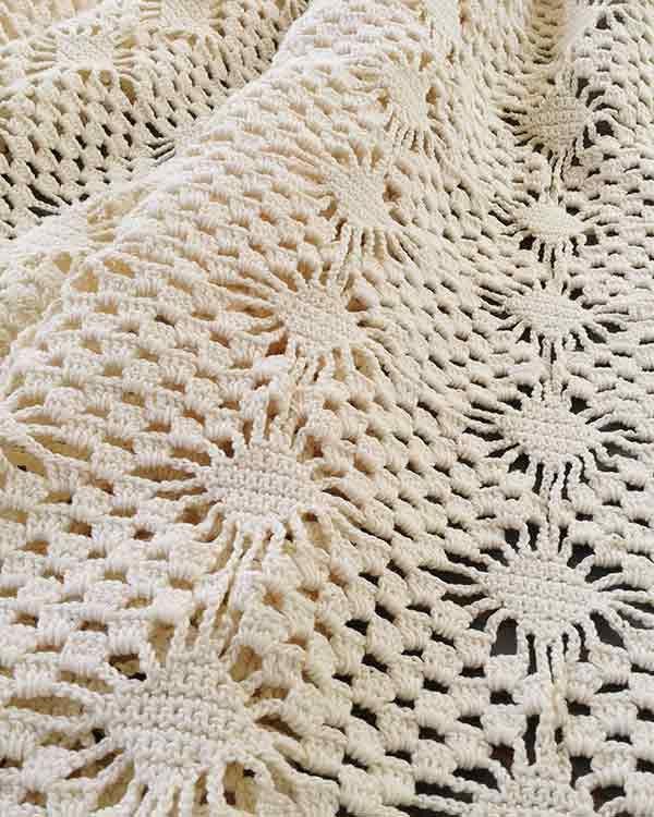 Spider Lace Bedspread Crochet Pattern T Rg Pinterest