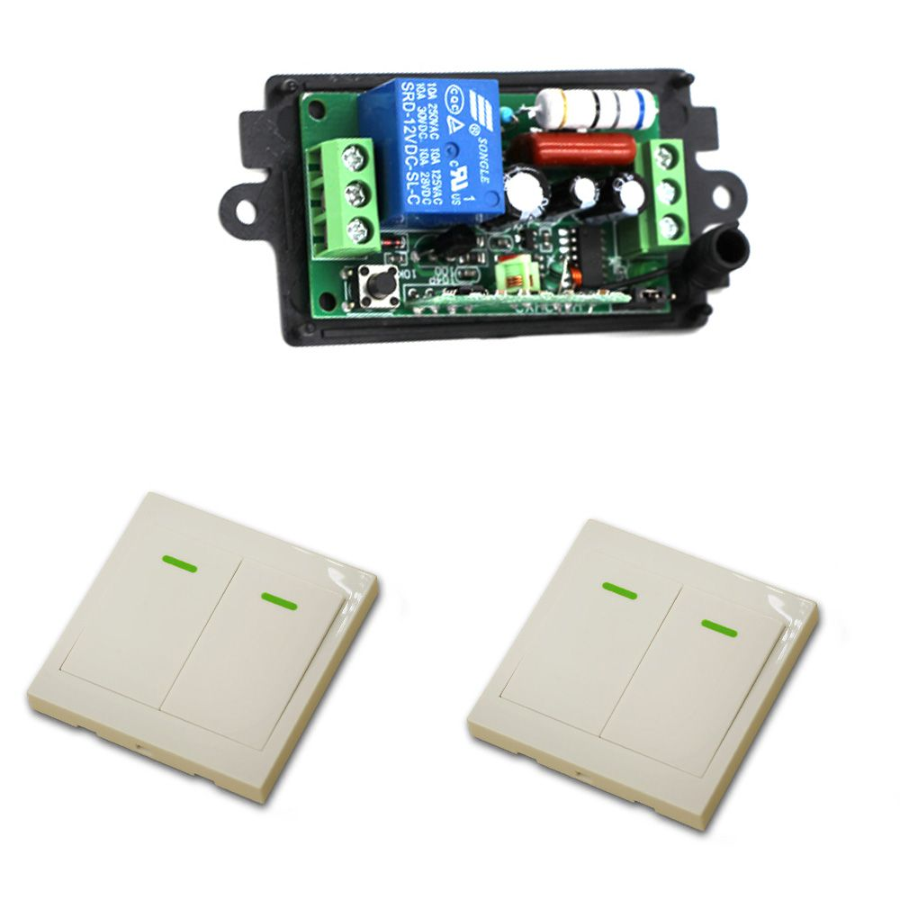 Wireless Remote Controlled Switch Circuit C Free Electronic Wiring 110v 220v Control Power Relay