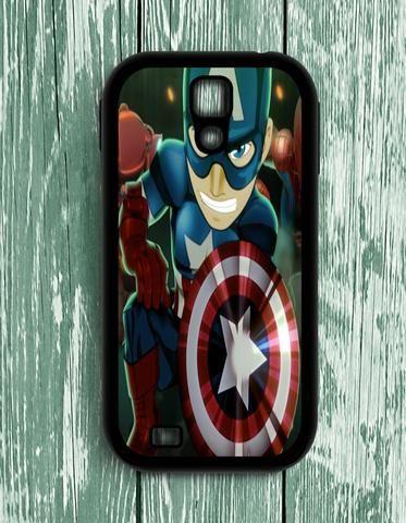 Captain America Marvel Superhero Samsung Galaxy S4 Case
