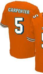 sports shoes 83fd0 323a9 $78.00--Dan Carpenter Orange Elite Jersey - Nike Stitched ...