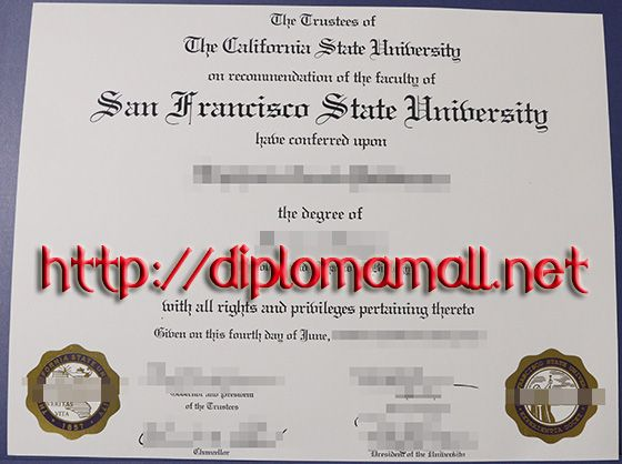 San Francisco State University degree buy degree, buy masters - master or masters degree on resume