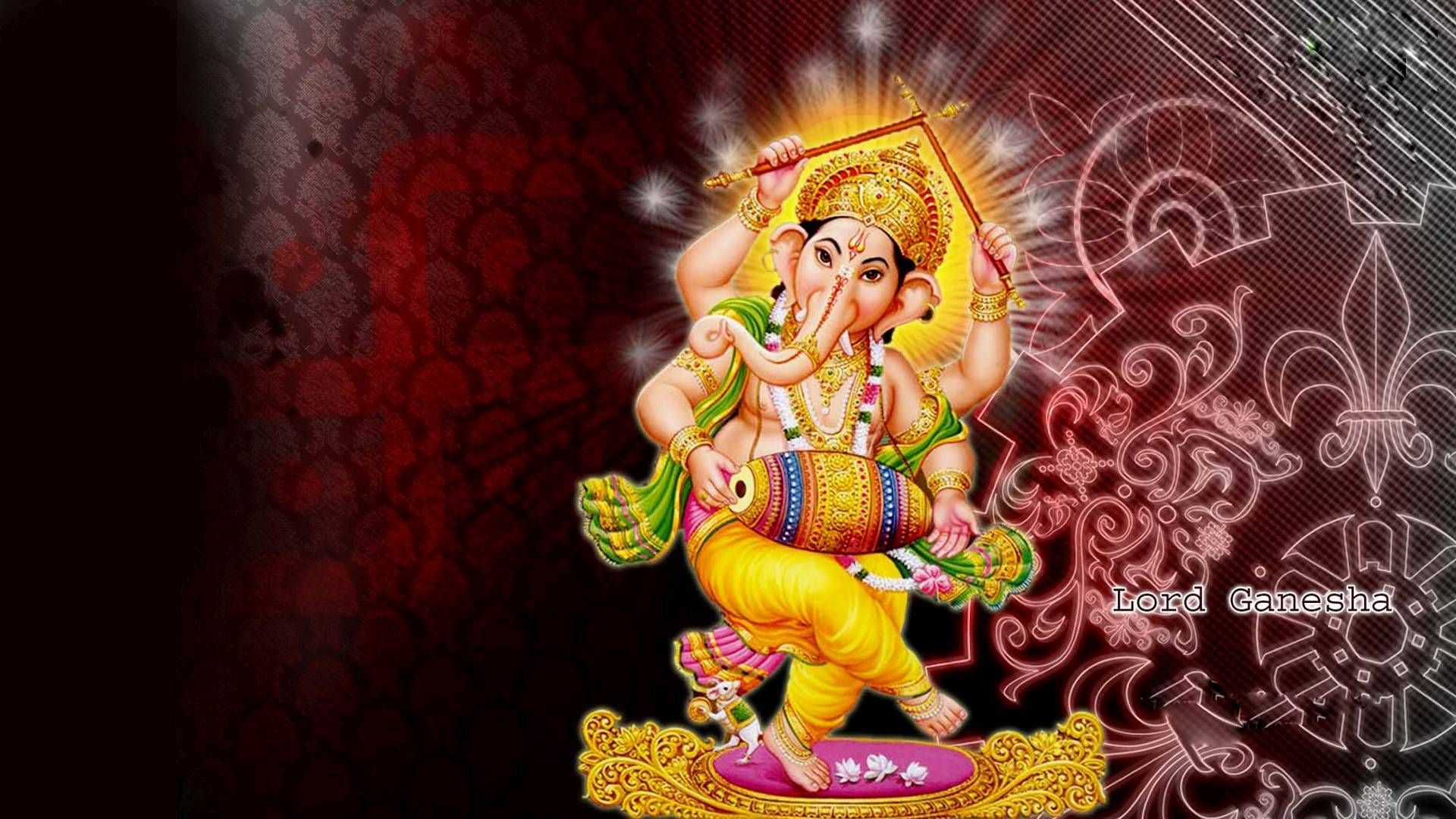 Lord Ganesha 1080p Hindu God Hd Desktop Wallpapers Religious Wallpaper