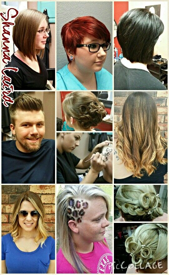 Haircuts Updos And Some Color Highlights Leopard Print Hair