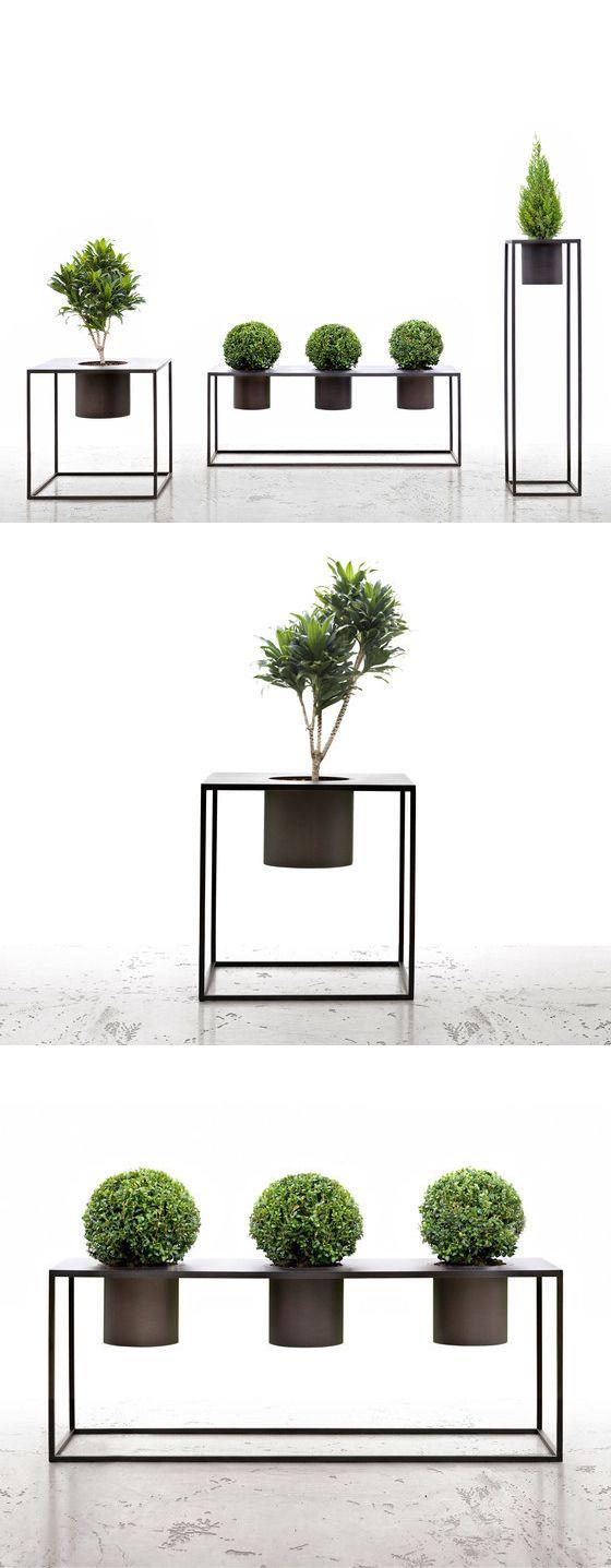 Aldo cibic and cristiano urban riviera plant stands vertical