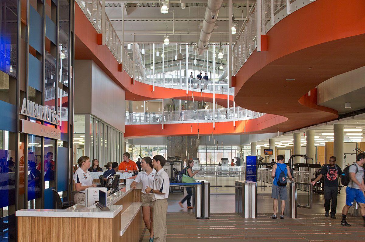 Attirant Auburn University Recreation U0026 Wellness Center On Behance