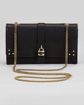 0e4a9a3a4a83ed ShopStyle.com: Chloe Aurore Padlock Wallet on a Chain, Black $895.00 ...